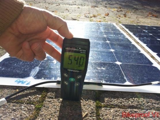 rendement des panneaux solaires